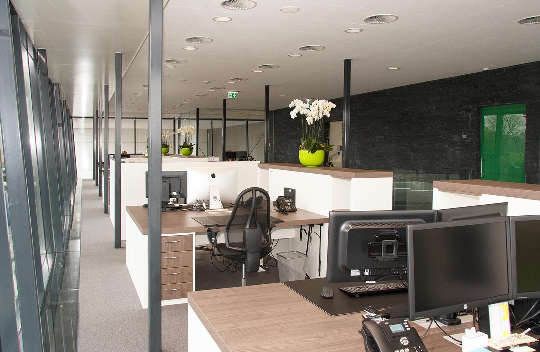 Modern Kantoor Interieur : Inrichting kantoor artilux specialist in kersen en grenen